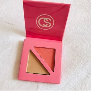 Coastal scents blush and bronzer pink palette NEW